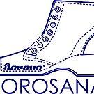 Borosana Borovo -  white nostalgic ortopedic shoe from Yugoslavia by SofiaYoushi