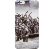 D-Day by John Spirngfield iPhone Case/Skin