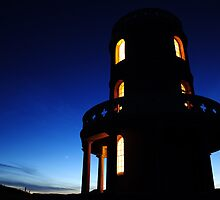 Clavell Tower and Venus 10.53pm on 6 June 2010 by verwoody