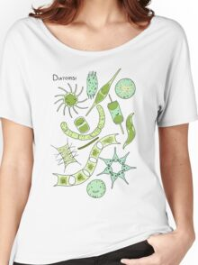 Diatoms Women's Relaxed Fit T-Shirt