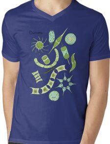 Diatoms Mens V-Neck T-Shirt