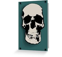 Skull - Sherlock Greeting Card
