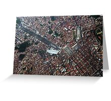 Lisbon from Above               Portugal Greeting Card
