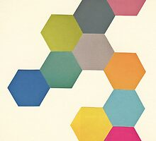 Honeycomb I by Cassia Beck