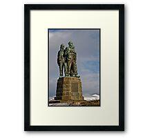 The Commando Memorial at Spean Bridge Framed Print