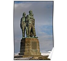 The Commando Memorial at Spean Bridge Poster