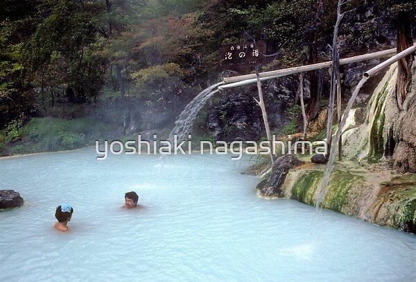 Japanese hot springs, Sirahone onsen, Japan by yoshiaki nagashima