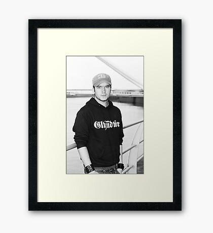 Torchwood Ianto  Framed Print