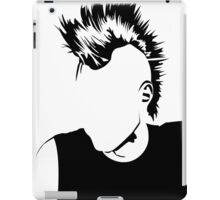 Punk Vacant expression iPad Case/Skin