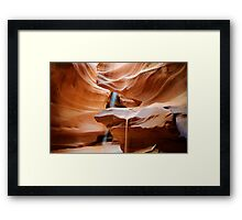Upper Antelope Canyon #4 Framed Print