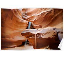 Upper Antelope Canyon #4 Poster