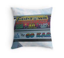 Funtown Throw Pillow