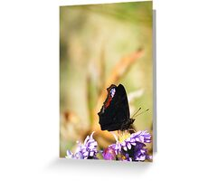 On the dark side Greeting Card