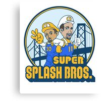 Super Splash Bros - Power Up Edition Canvas Print
