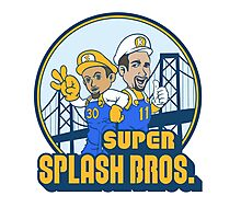 Super Splash Bros - Power Up Edition Photographic Print