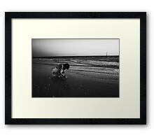 Before The Oil Arrives Framed Print