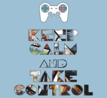 Keep Calm and Take Control Kids Clothes