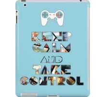 Keep Calm and Take Control iPad Case/Skin
