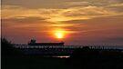 Sunset Mobile Bay by Sandy Keeton
