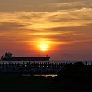Sunset Mobile Bay by Sandy Keeton