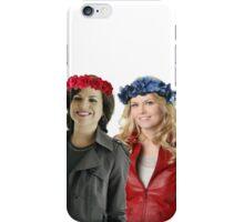 Swan Queen Flower Crowns iPhone Case/Skin