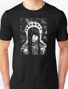 Coiled in Shadows, Distant From Light Unisex T-Shirt