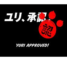 Yuri Kuma Arashi - Yuri approved! Photographic Print