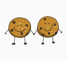 Cute chocolate chip cookie besties Kids Clothes