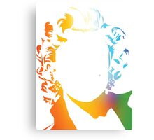 Marilyn Monroe vacant expression Canvas Print