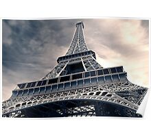 Towering  Eiffel  Poster