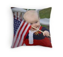Next Generation: Long May It Wave Throw Pillow