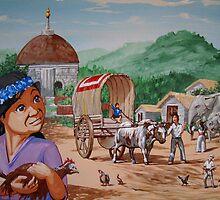 village Sri Lanka by David  Larcom