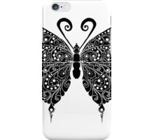 Butterfly illustration iPhone Case/Skin