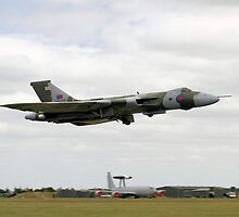 """Avro Vulcan XH558 """"The Spirit of Great Britain"""" by PhilEAF92"""