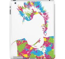 Punk Vacant expression iPad Case/Skin