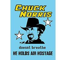 Chuck be tough.  Photographic Print