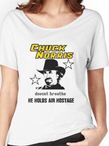 Chuck be tough.  Women's Relaxed Fit T-Shirt