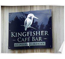 kingfisher cafe bar Poster