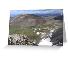 Divine Paint Strokes, Mount Lincoln, CO 2010  Greeting Card