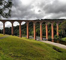 Leaderfoot Viaduct, Trimontium by Alisdair Gurney