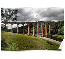 Leaderfoot Viaduct, Trimontium Poster