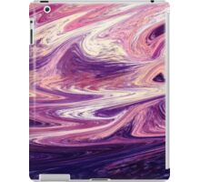 Purple Wind Abstract iPad Case/Skin
