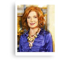 Martha Rodgers Canvas Print