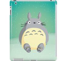 Totoro in the Snow iPad Case/Skin