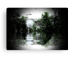 Through the water Canvas Print