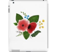 Flowers(Water color) iPad Case/Skin