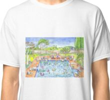bunny pool party Classic T-Shirt