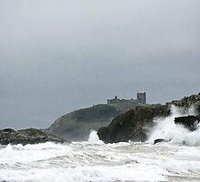 Criccieth Castle 2 by John Kiely