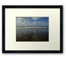 Land Sea Sky Framed Print