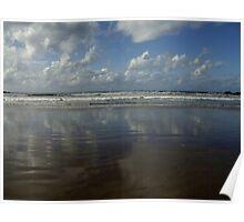 Land Sea Sky Poster